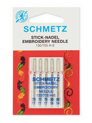 Иглы Schmetz Embroidery 5/ 75-90