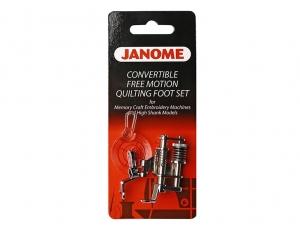 Лапки Janome д/квилт и своб-ходовой стёжки QBS 202-001-003
