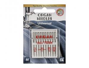 Универсальные иглы Organ 10/70-100 блистер