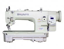 Прямострочная швейная машина челночного стежка Shunfa SF 0303-D для тяжёлых материалов