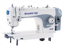 Прямострочная швейная машина челночного стежка Shunfa S-1 для легких и средних тканей