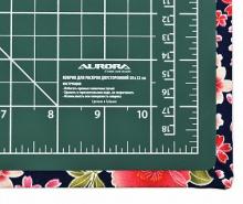 Коврик раскройный Aurora мультифункциональный 4 в 1 зеленый