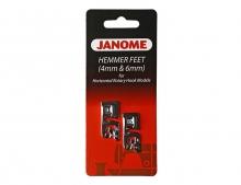 Набор лапок подрубателей Janome 4 и 6 мм 200-326-001