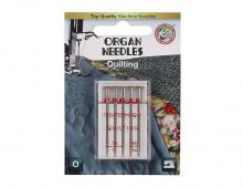 иглы Organ Квилтинг 5/75-90 блистер